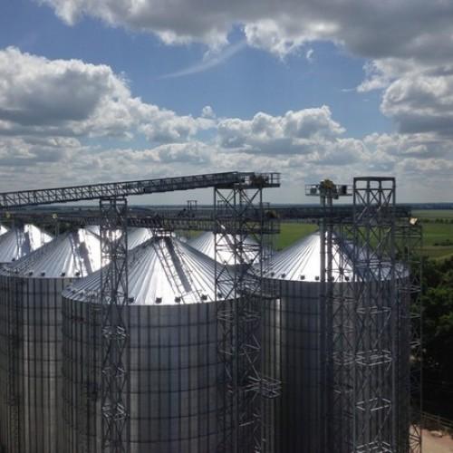 АСУ ТП елеваторних комплексів з ділянками виробництва комбікормів