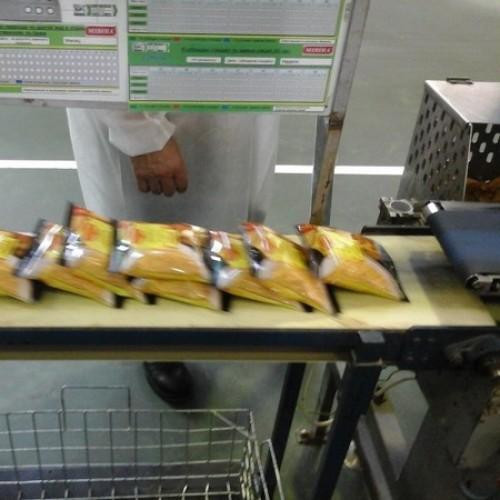 Автоматизована система контролю складу пакета вермішелі швидкого приготування «Мівіна», корпорація «Техноком»