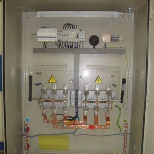 Шафи релейного захисту підстанції 330 кВ
