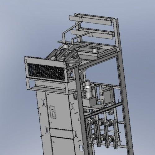Система розподілу електроенергії на стороні 6-10 кВ