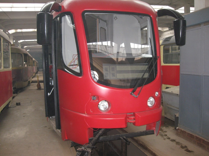 Модернізація електрообладнання трамвая