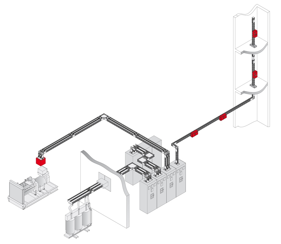 Схема общая-шинопроводы ЕАЕ