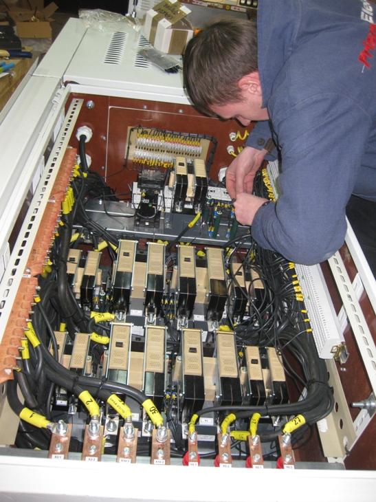 Шафа управління електрообладнанням трамвая