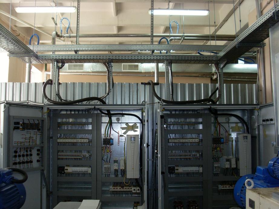 Електропостачання кондитерської фабрики