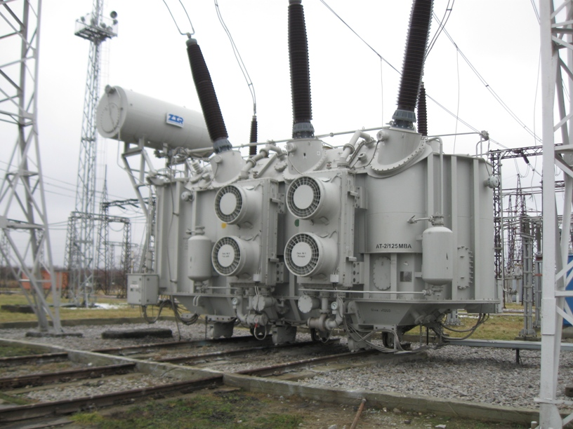 General appearance of 330kv substation