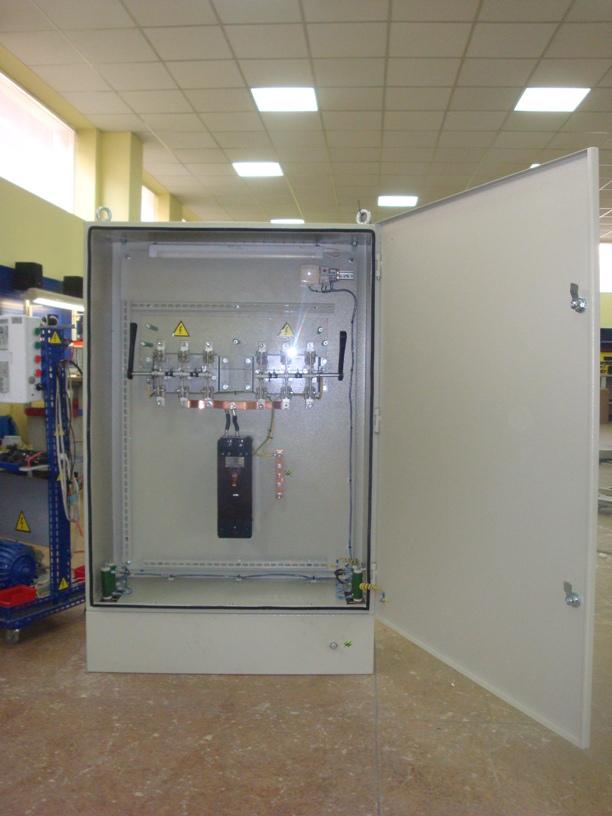 Электрооборудование подстанции 330 кВ после реконструкции