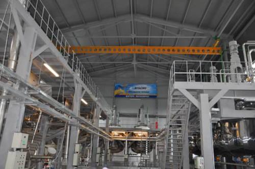 Автоматизация установки утилизации твердого ракетного топлива