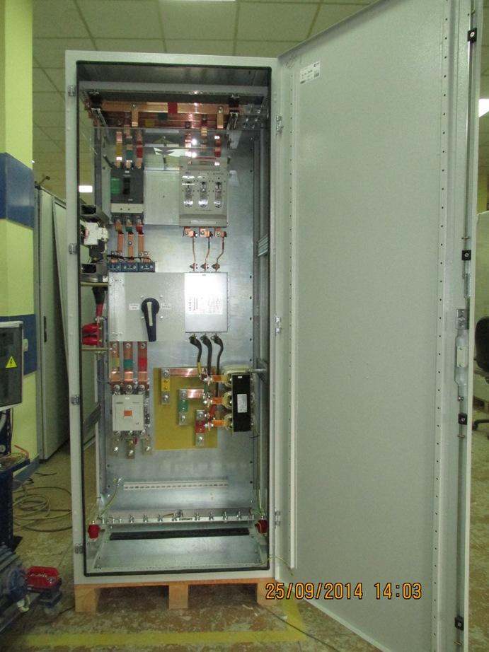 Шафи керування електроприводами, цукровий завод