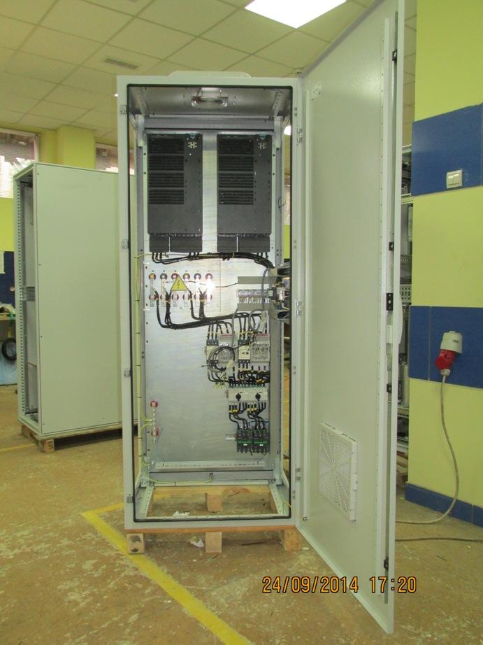 Шкафы управления электроприводами, сахарный завод
