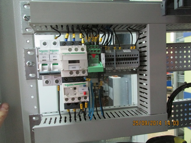 Electric driver control system of sugar mill technological machines