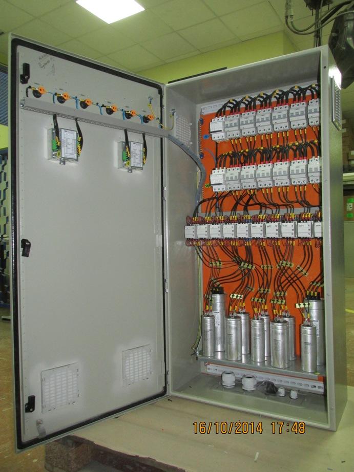 Електрощитове обладнання м'ясокомбінат